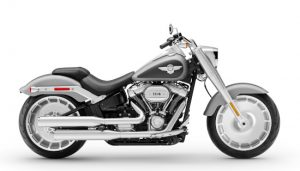 H-D Fat Boy motorcycle for rent